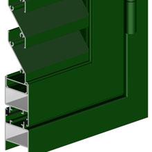 Portadas Aluminio 4100 PT